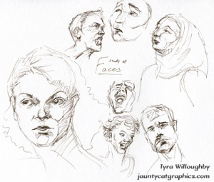 Study of Faces