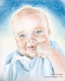 """11""""x14"""" Color pencil on Bristol paper; By: Tyra Willoughby"""