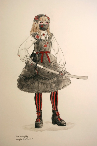 Gothic Lolita Assassin