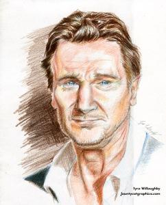 Liam Neeson Portrait