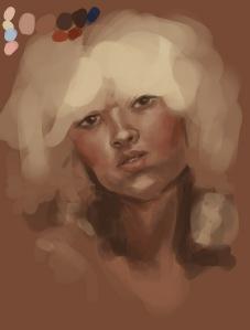 large blond ringlets1